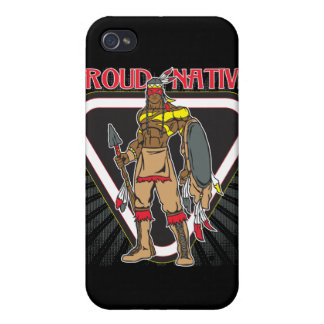 Proud Native American iPhone 4/4S Covers