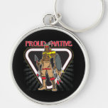 Proud Native American Key Chains
