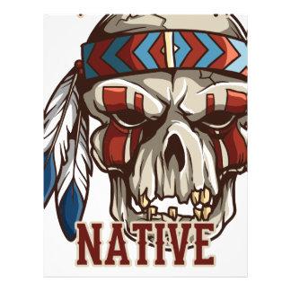Proud Native American Personalized Letterhead