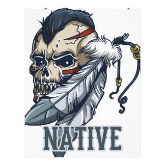 Proud Native American Letterhead Template