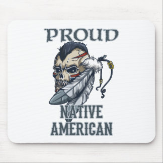 Proud Native American Mouse Pad
