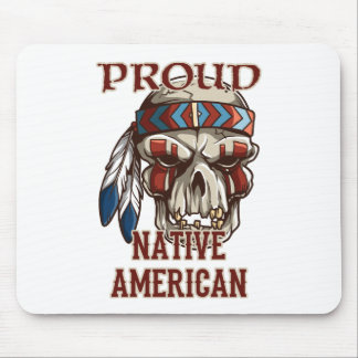 Proud Native American Mouse Pads