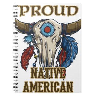 Proud Native American Note Book