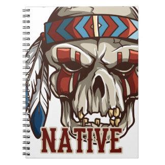 Proud Native American Spiral Notebook