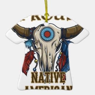 Proud Native American Christmas Ornaments