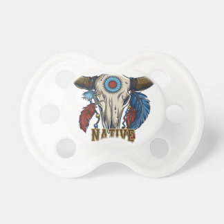 Proud Native American Pacifier