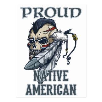 Proud Native American Postcard