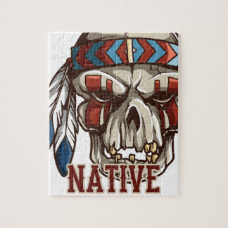 Proud Native American Jigsaw Puzzles
