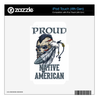 Proud Native American iPod Touch 4G Skin