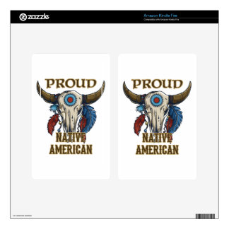 Proud Native American Skins For Kindle Fire