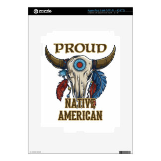Proud Native American Decal For iPad 3