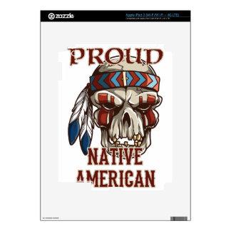 Proud Native American iPad 3 Skin