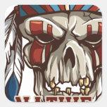 Proud Native American Square Sticker