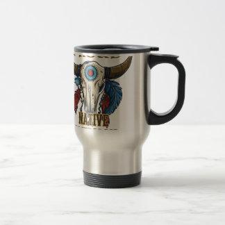Proud Native American Travel Mug