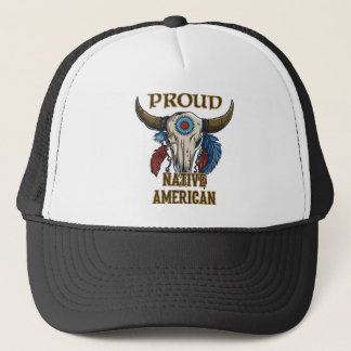 Proud Native American Trucker Hat