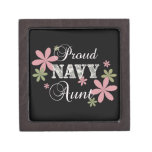 Proud Navy Aunt [fl c] Premium Keepsake Box