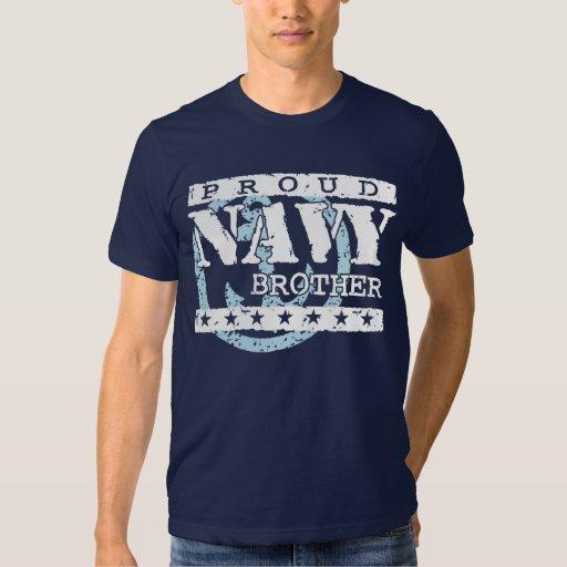 Proud Navy Brother Tee Shirt