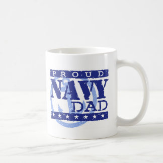 Proud Navy Dad Coffee Mug