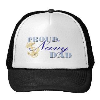 Proud Navy Dad Trucker Hat