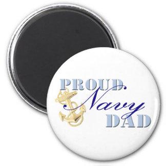 Proud Navy Dad Magnet