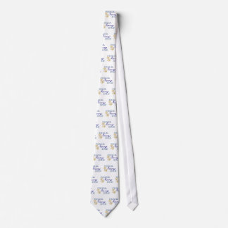 """Proud Navy Dad"" Military Tie"