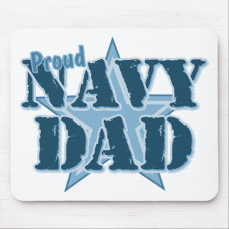 Proud Navy Dad Mouse Pad