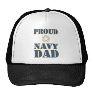 Proud Navy Dad Trucker Hat
