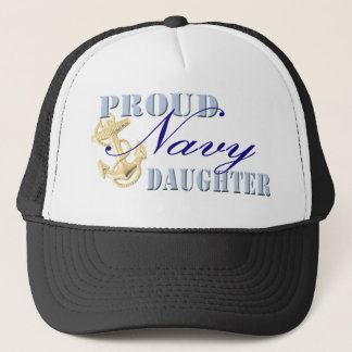 Proud Navy Daughter Trucker Hat