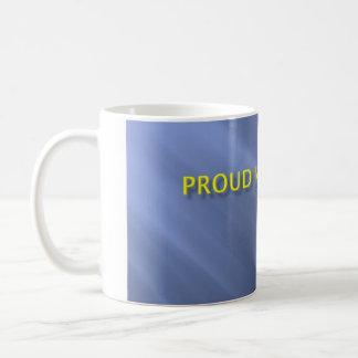 Proud Navy Mom Anchor Mug