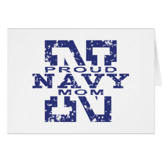 Proud Navy Mom Card