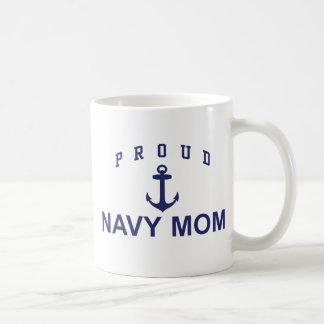 Proud Navy Mom Coffee Mug