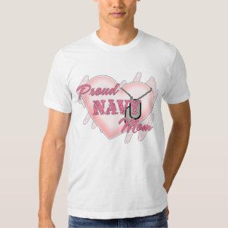 Proud Navy Mom diamondback T-Shirt