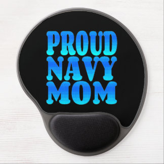 Proud Navy Mom Gel Mouse Pad