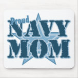 Proud Navy Mom Mouse Mats