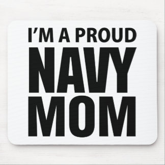 Proud Navy Mom mousepad