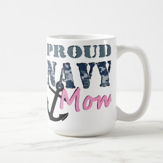 Proud Navy Mom Mug