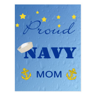Proud Navy Mom Postcard