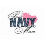 Proud Navy Mom Postcards