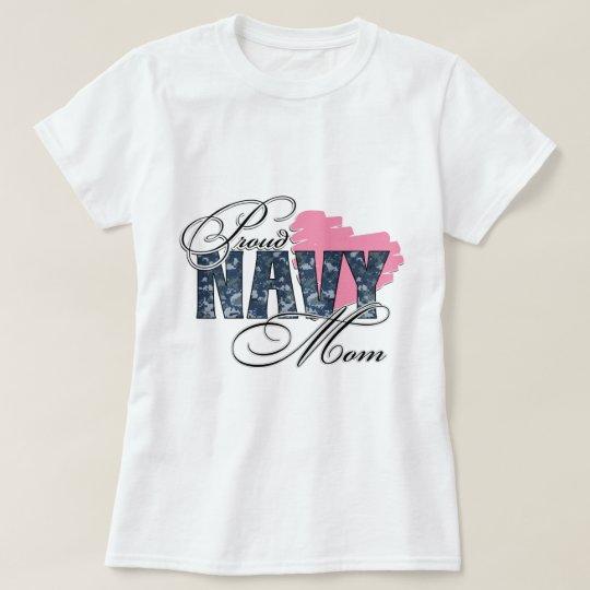 Proud Navy Mom T-Shirt