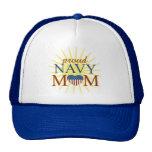Proud Navy Mom Trucker Hats
