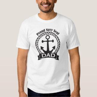 Proud Navy Seal Dad T-Shirt