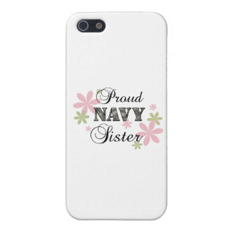 Proud Navy Sister fl c iPhone 5 Cases