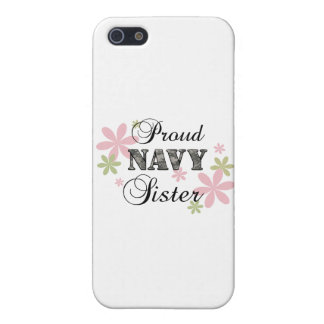 Proud Navy Sister [fl c] iPhone SE/5/5s Cover