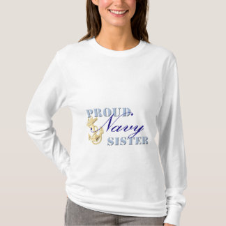 Proud Navy Sister T-Shirt