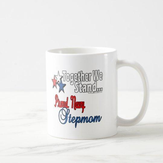 Proud Navy Stepmom Coffee Mug