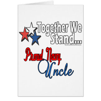 Proud Navy Uncle Card