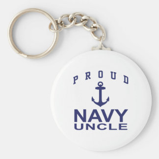 Proud Navy Uncle Key Chains