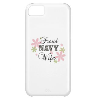 Proud Navy Wife fl c iPhone 5C Covers