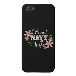Proud Navy Wife fl c Cases For iPhone 5