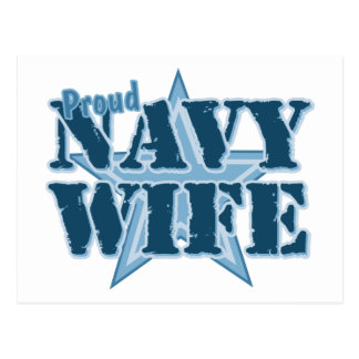 Proud Navy Wife Post Cards